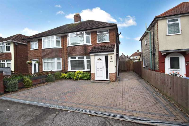 3 Bedrooms Semi Detached House for sale in Clapgate Lane, Ipswich