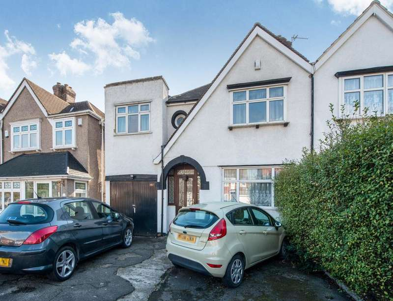 3 Bedrooms Semi Detached House for sale in Woolwich Road, Upper Abbey Wood, London, SE2
