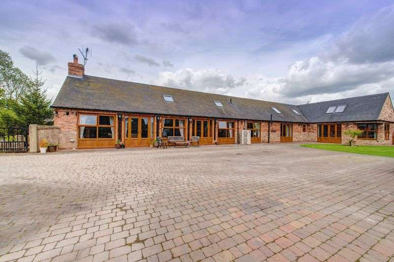 4 Bedrooms Detached House for sale in THE CART BARN, ARLESTON LANE, BARROW ON TRENT