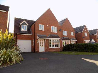 4 Bedrooms Detached House for sale in Amble Close, Sutton Coldfield, West Midlands