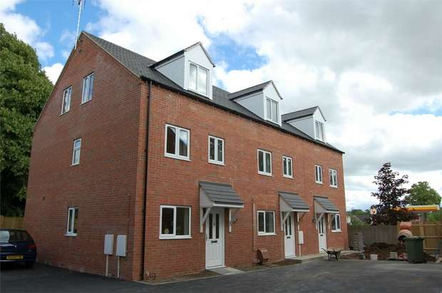 4 Bedrooms Terraced House for sale in Iverley Close, RUGBY, Warwickshire