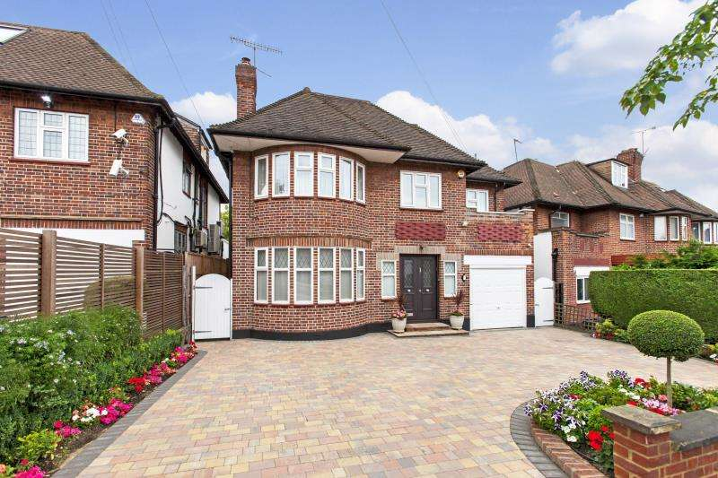 5 Bedrooms Detached House for sale in Haslemere Gardens, Finchley