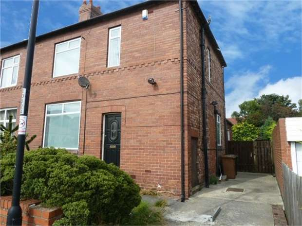 3 Bedrooms Semi Detached House for sale in The Drive, Denton Burn, Newcastle upon Tyne, Tyne and Wear