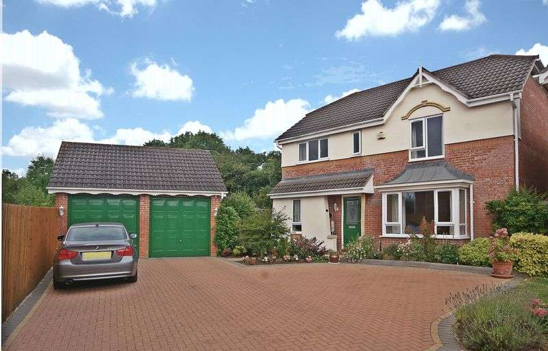 4 Bedrooms Detached House for sale in Hartland Close, Hereford