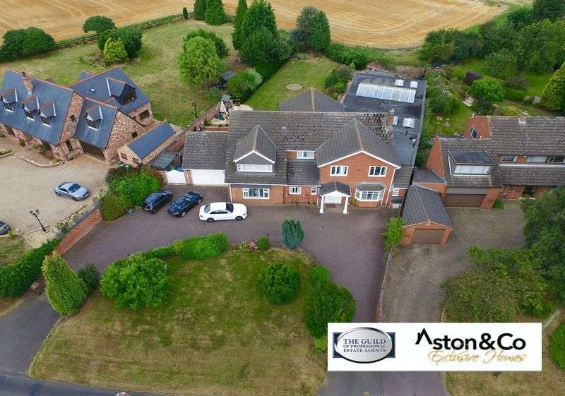 6 Bedrooms Detached House for sale in Rectory Road, Wanlip, Leicestershire LE7 4PL