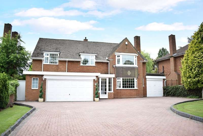 5 Bedrooms Detached House for sale in Grange Road, Solihull