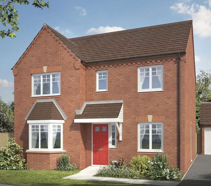 4 Bedrooms Detached House for sale in Mallard Walk, Stafford