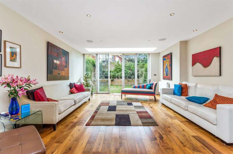 4 Bedrooms Terraced House for sale in Fairfax Road, South Hampstead, NW6