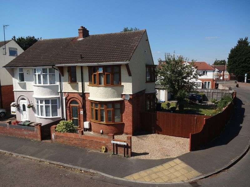 3 Bedrooms Semi Detached House for sale in Reeves Avenue, Luton