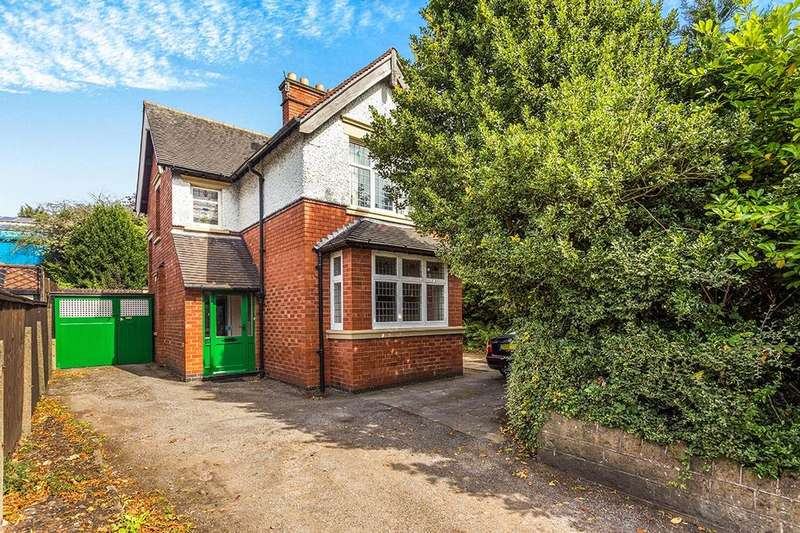 3 Bedrooms Detached House for sale in Highbury Road, Nottingham, NG6