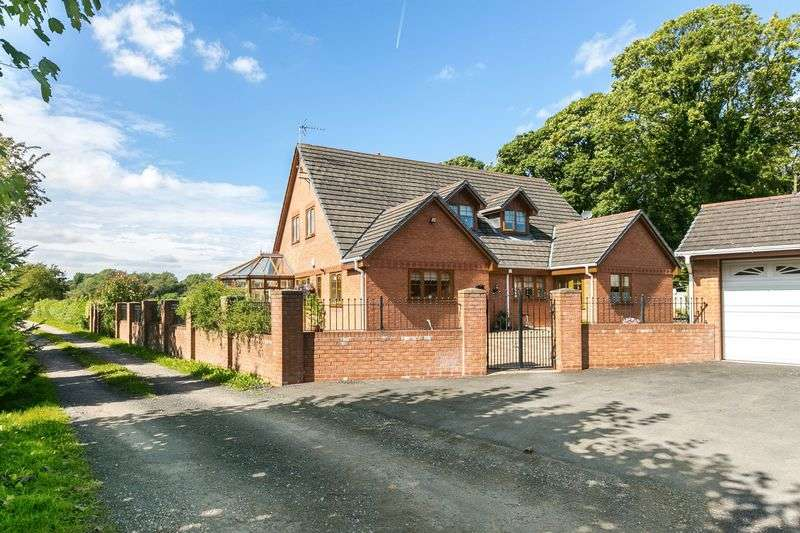 5 Bedrooms Detached House for sale in Holme Farm, Wigan Road, Ashton-in-Makerfield, WN4 0BZ