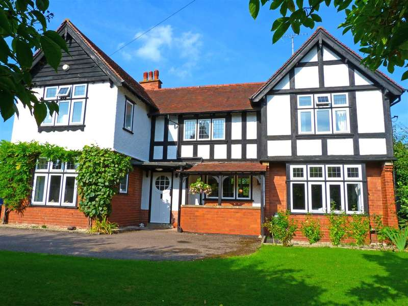 4 Bedrooms Detached House for sale in Westfaling Street, Hereford, HR4
