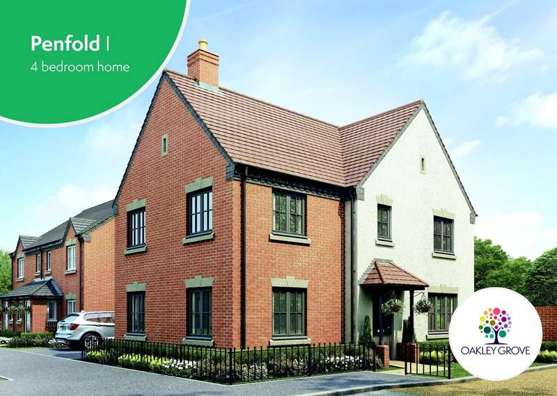 4 Bedrooms Detached House for sale in Plot 11 Penfold Oakley Grove