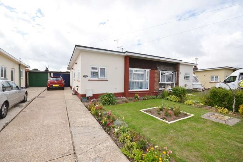 2 Bedrooms Bungalow for sale in Mountney Drive, Pevensey Bay, BN24