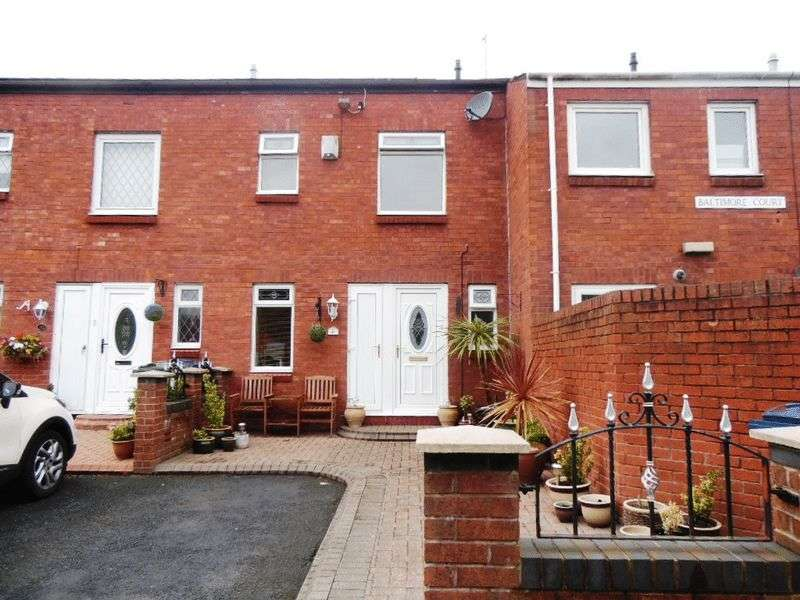 4 Bedrooms Terraced House for sale in Baltimore Court, Washington