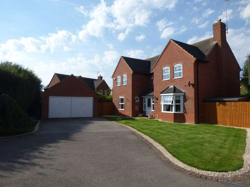 4 Bedrooms Detached House for sale in Hawthorn Way, Shipston On Stour