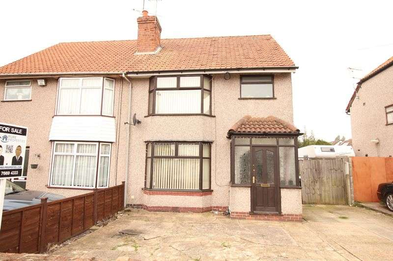 3 Bedrooms Semi Detached House for sale in Beech Tree Avenue, Coventry