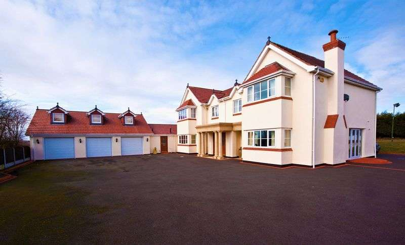 5 Bedrooms Detached House for sale in Scarth Hill Lane, Westhead, Ormskirk