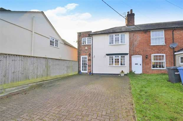 4 Bedrooms End Of Terrace House for sale in Rectory Road, Newton, Sudbury, Suffolk