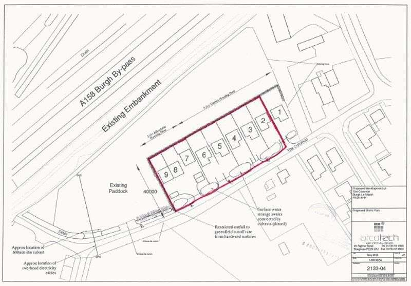 Property for sale in Development Land, The Common, Burgh Le Marsh