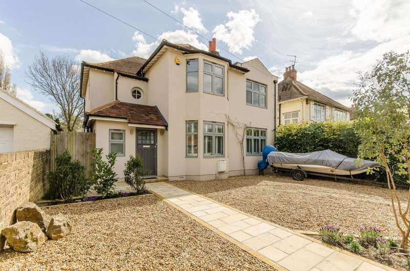 4 Bedrooms Detached House for sale in Nelson Road, New Malden, KT3