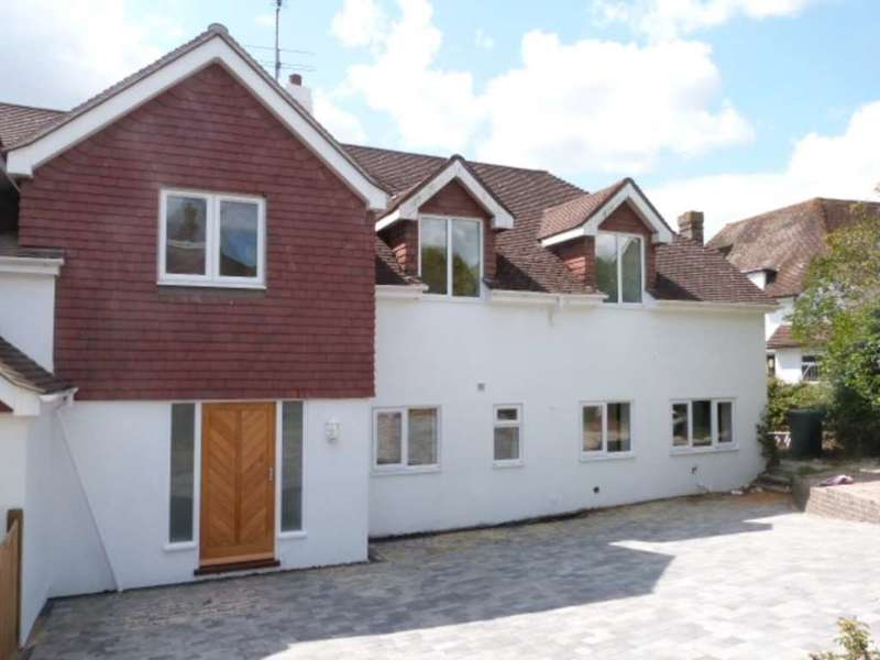 4 Bedrooms Semi Detached House for sale in Houndean Rise, Lewes