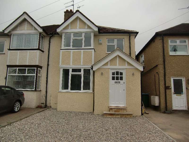 4 Bedrooms Semi Detached House for sale in Third Avenue, Garston Watford, Herts, WD25
