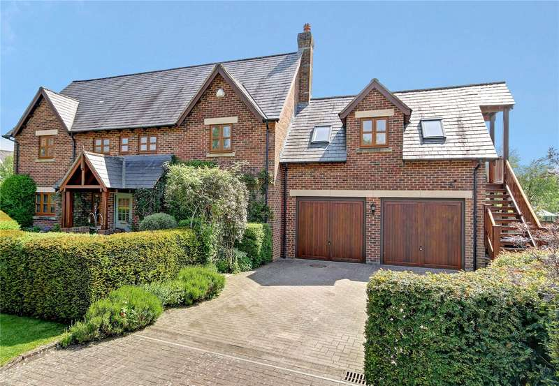 5 Bedrooms Detached House for sale in Granary Close, East Grafton, Marlborough, Wiltshire, SN8