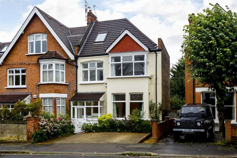 5 Bedrooms Semi Detached House for sale in Vineyard Hill Road, London, SW19