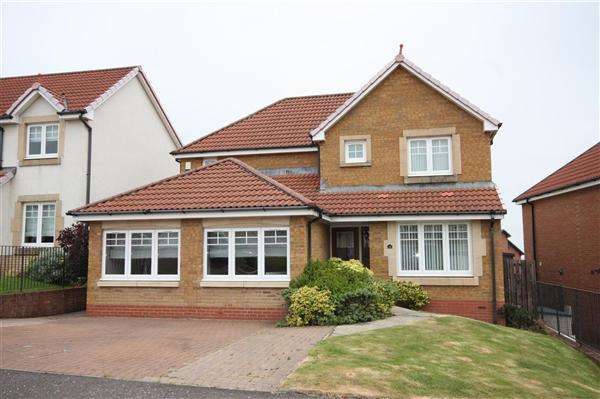 4 Bedrooms Detached House for sale in Glamis Crescent, Westcraigs, Blantyre