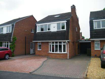 4 Bedrooms Link Detached House for sale in Mease Avenue, Burntwood, Staffordshire