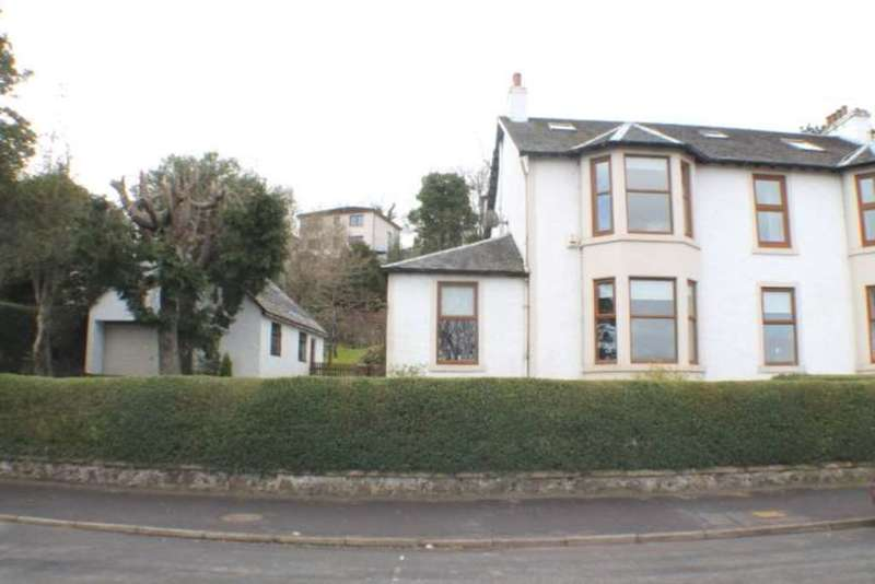 4 Bedrooms Semi Detached House for sale in Main Road, Langbank,