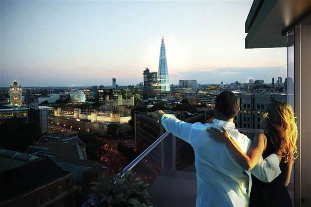 3 Bedrooms Flat for sale in Royal Mint Gardens, Tower Hill
