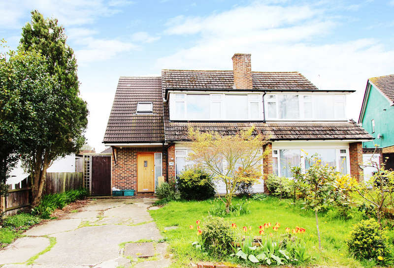 3 Bedrooms Semi Detached House for sale in Hunters Road, Chessington