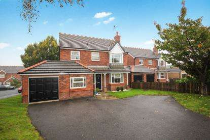 4 Bedrooms Detached House for sale in Saltergate Drive, Harrogate, North Yorkshire, Harrogate
