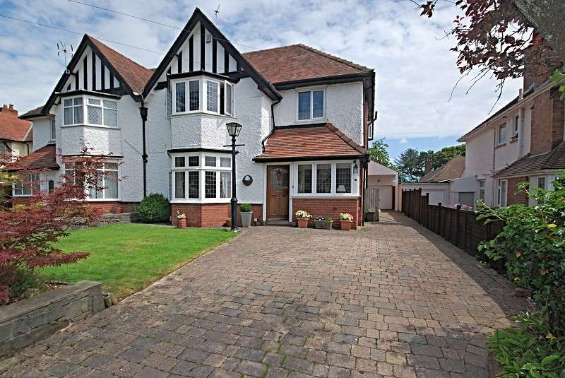 5 Bedrooms Semi Detached House for sale in Fields Park Avenue, Newport, South Wales. NP20 5BG