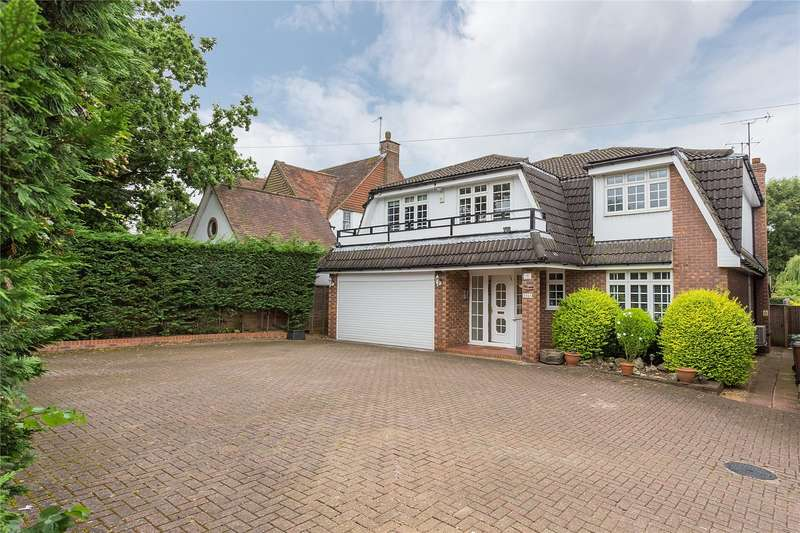 5 Bedrooms Detached House for sale in Oxhey Lane, Hatch End, Middlesex, HA5