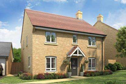 4 Bedrooms Semi Detached House for sale in Woodford Meadows, Off Byfield Road, Woodford Halse, Northamptonshire