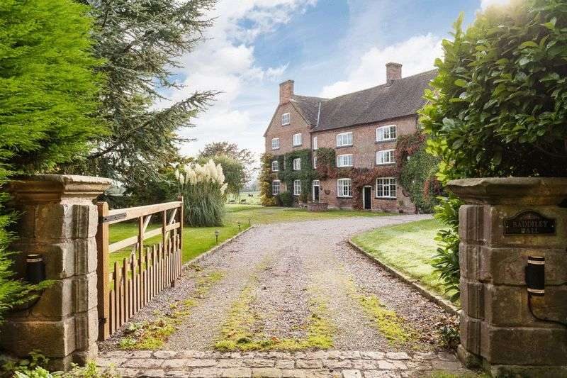 7 Bedrooms Detached House for sale in Baddiley Hall, Baddiley Hall Lane, Baddiley CW5 8BS