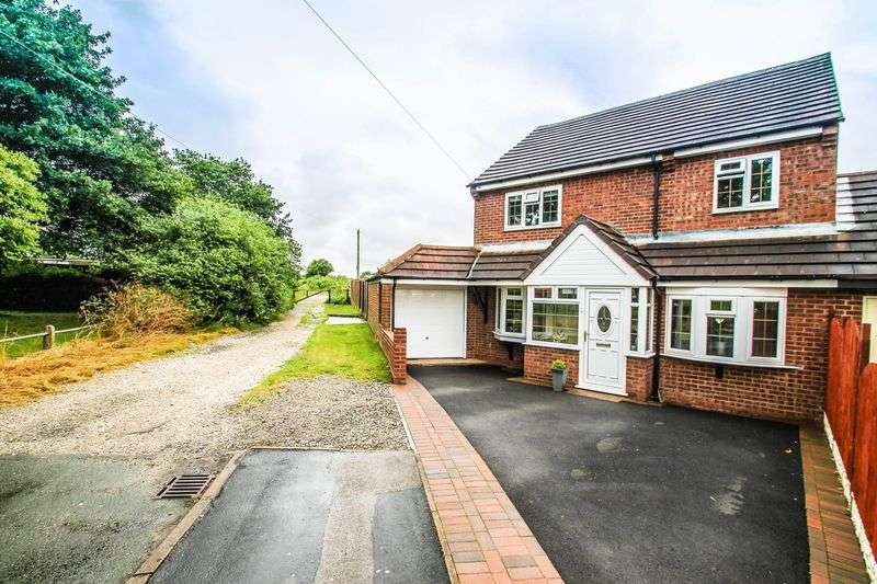 4 Bedrooms Detached House for sale in Ryders Hayes Lane, Pelsall, Walsall