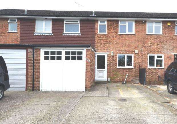 3 Bedrooms Terraced House for sale in 102 Christchurch Drive, Blackwater, Camberley, GU17 0HN