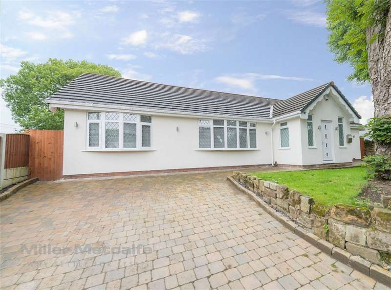 3 Bedrooms Detached Bungalow for sale in Parsonage Road, Ringley, Radcliffe, Manchester, Lancashire