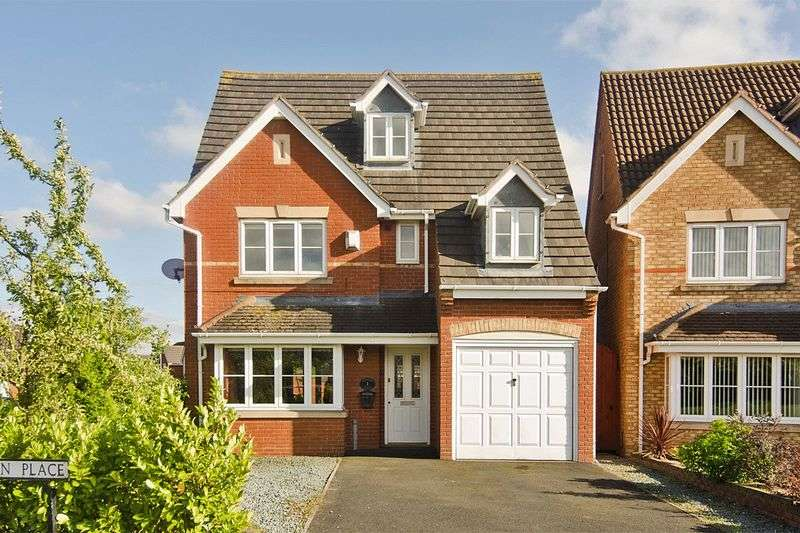 5 Bedrooms Detached House for sale in Quinton Place, Norton Canes, Cannock