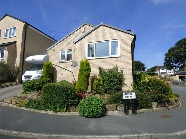 2 Bedrooms Detached Bungalow for sale in Mayster Grove, Brighouse, West Yorkshire
