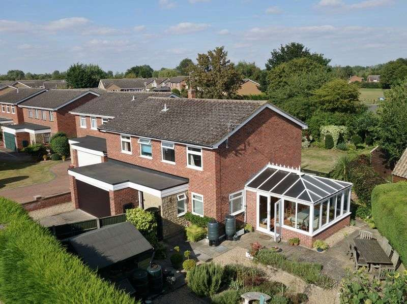 4 Bedrooms Detached House for sale in Little Paxton, St. Neots