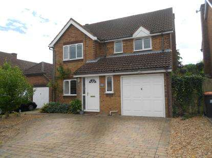 4 Bedrooms Detached House for sale in Quenby Way, Bromham, Bedford, Bedfordshire