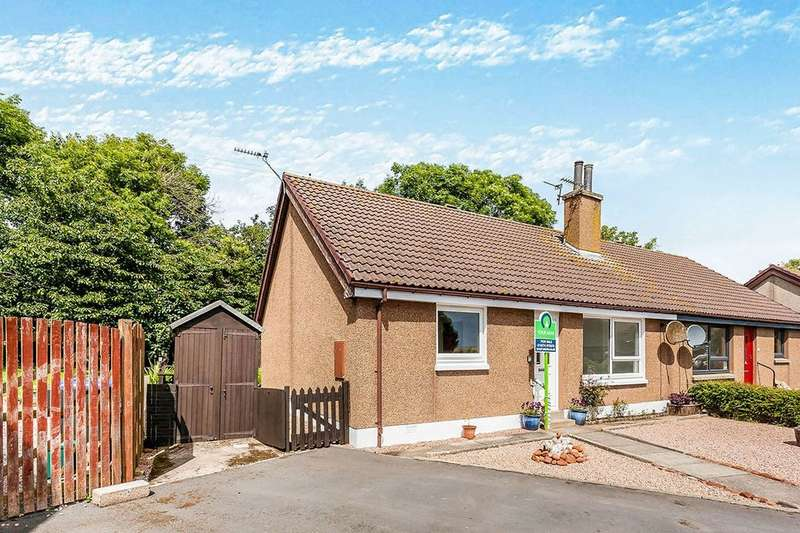 2 Bedrooms Semi Detached House for sale in Station Place, Johnshaven, Montrose, DD10