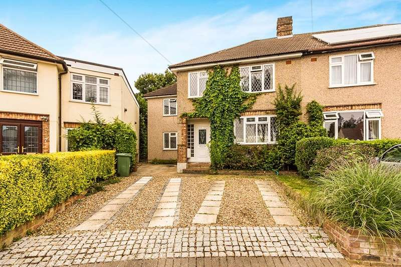 4 Bedrooms Semi Detached House for sale in Horley Close, Bexleyheath, DA6