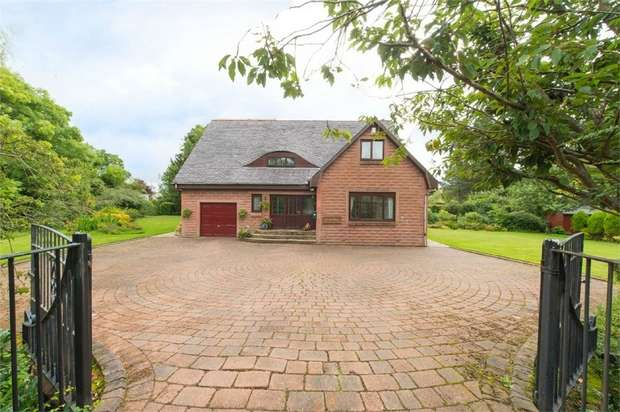 4 Bedrooms Detached House for sale in Fenwick Road, Kilmaurs, Kilmarnock, East Ayrshire