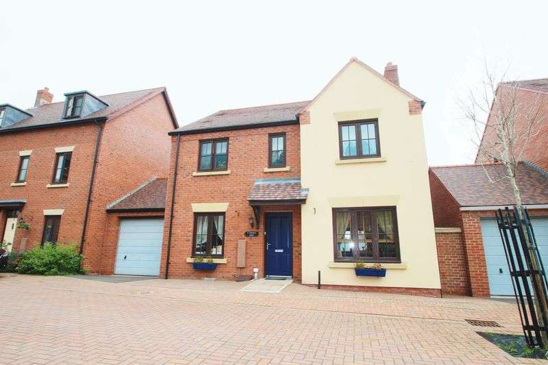 4 Bedrooms Detached House for sale in Yewtree Moor, Lawley Village